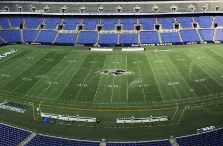 Baltimore Ravens GameOn Grass Testimonial