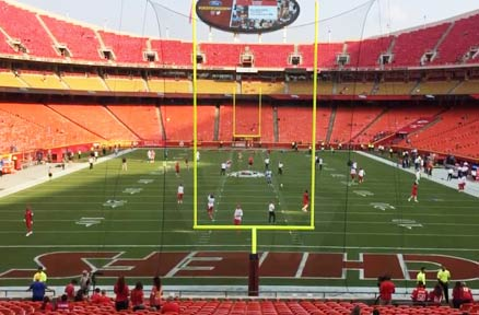 Kansas City Chiefs GameOn Grass Testimonial