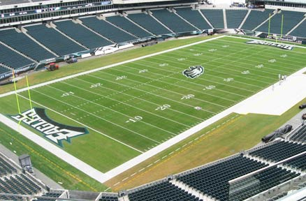Philadelphia Eagles GameOn Grass Testimonial
